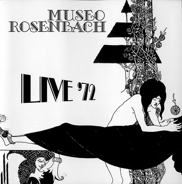 Live '72 Cover art