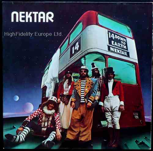 Nektar — Down to Earth