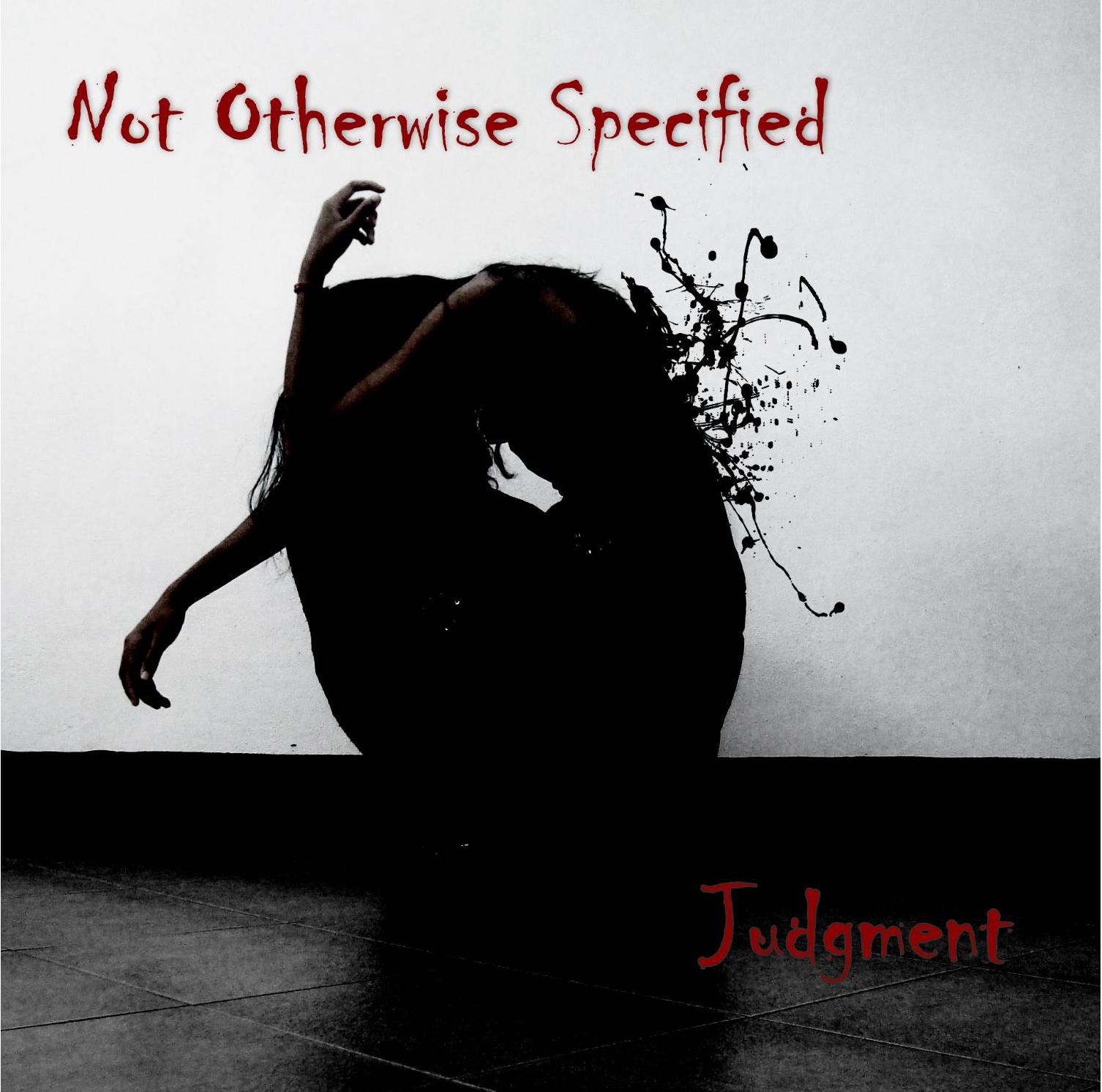 Not Otherwise Specified — Judgmemt