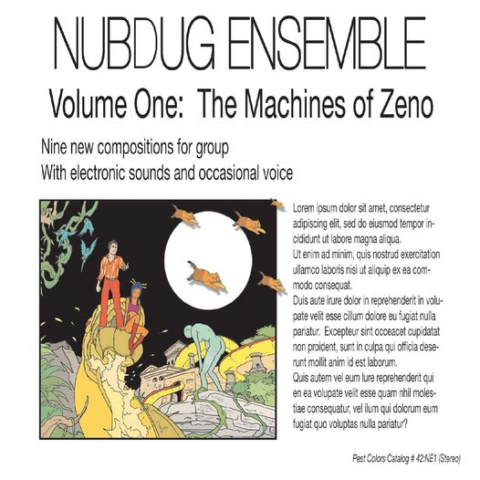 Volume 1: The Machines of Zeno Cover art