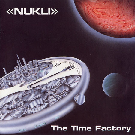 The Time Factory Cover art