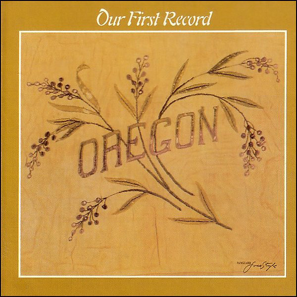 Oregon — Our First Record