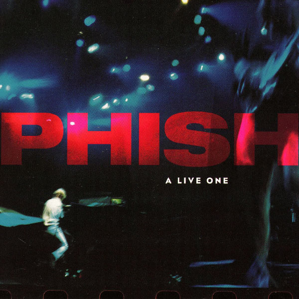 Phish - A Live One (1995) cover art