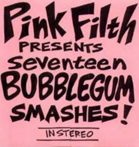 Seventeen Bubblegum Smashes! Cover art