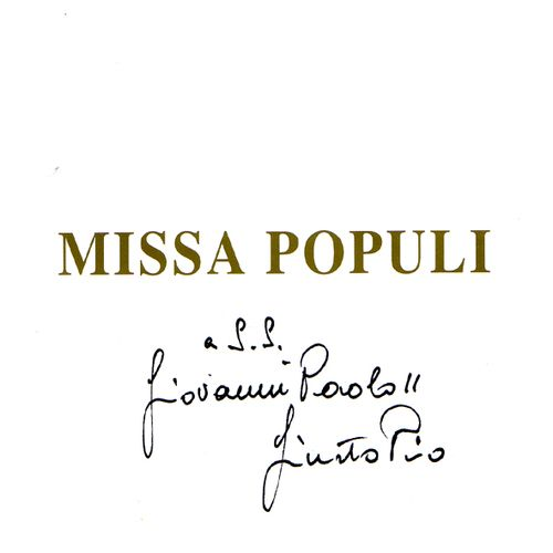 Missa Populi Cover art