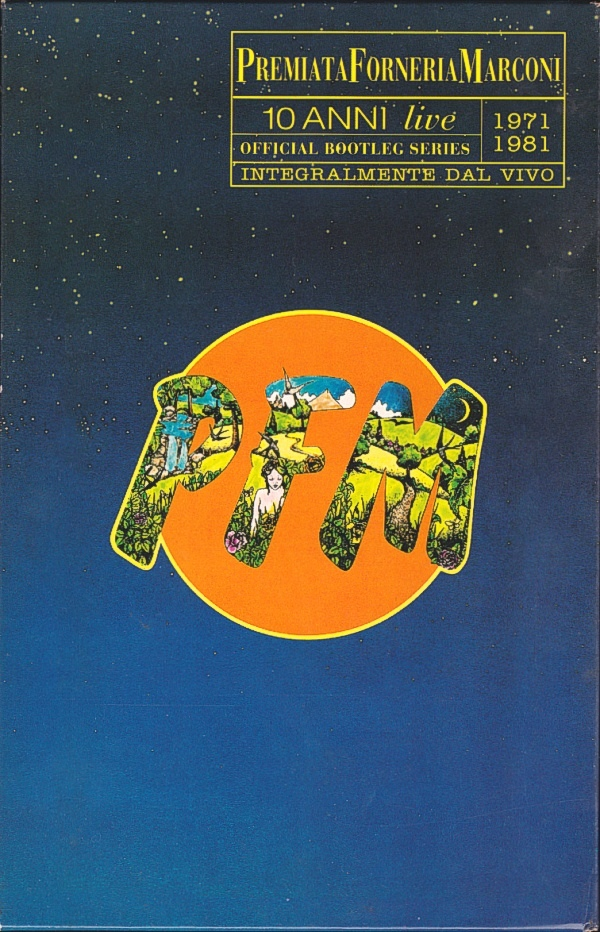 10 Anni Live 1971-1981 Cover art