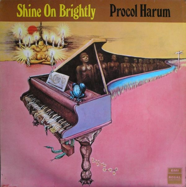 Procol Harum - Shine on Brightly cover art