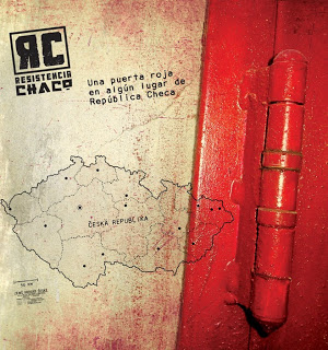 Una Puerta Roja en Algún Lugar de la República Checa Cover art