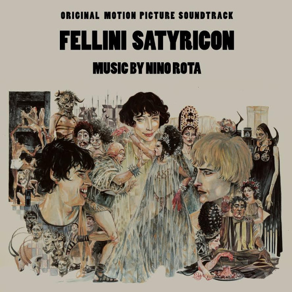 Nino Rota — Original Motion Picture Soundtrack Fellini Satyricon