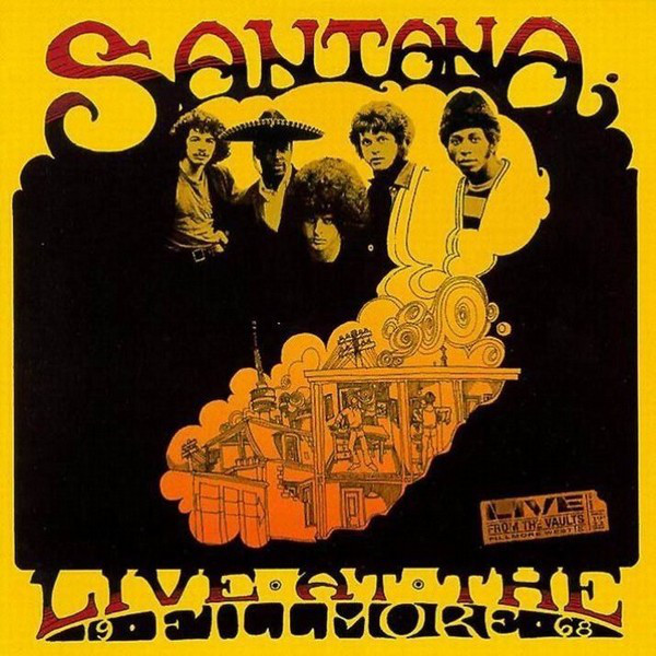 Santana — Live at the Fillmore '68