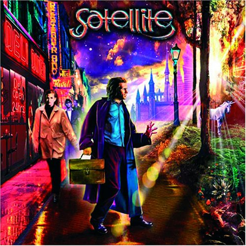 Satellite — A Street between Sunrise and Sunset