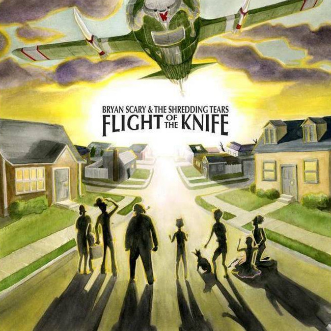 Bryan Scary and the Shredding Tears — Flight of the Knife