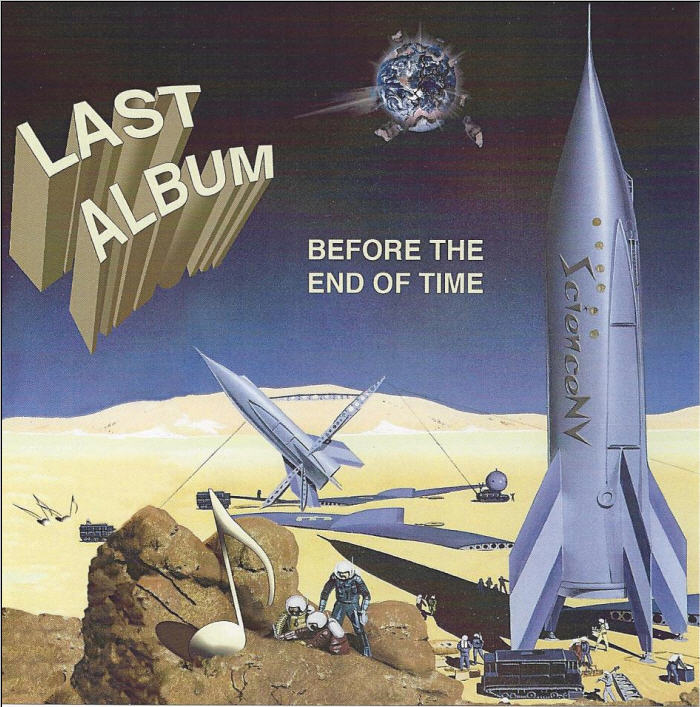Last Album before the End of Time Cover art