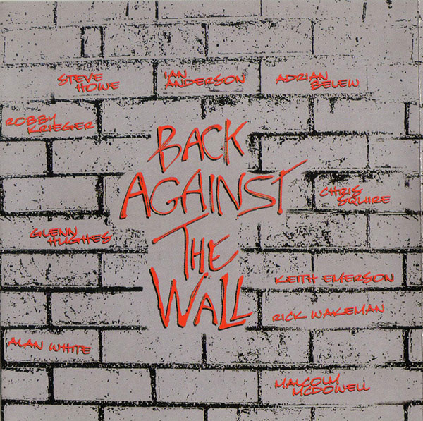 Back against the Wall Cover art