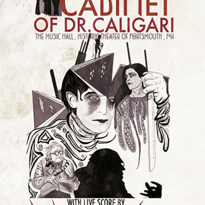 Walter Sickert & the Army of Broken Toys — The Cabinet of Dr. Caligari - Live Soundtrack