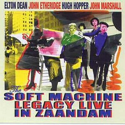 Live in Zaandaam Cover art