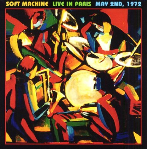 Live in Paris May 2nd, 1972 (aka Live in France) Cover art