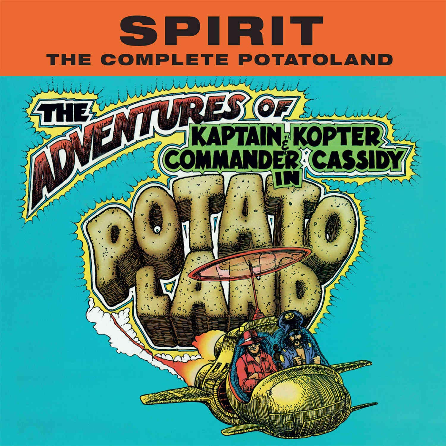 The Complete Potatoland Cover art