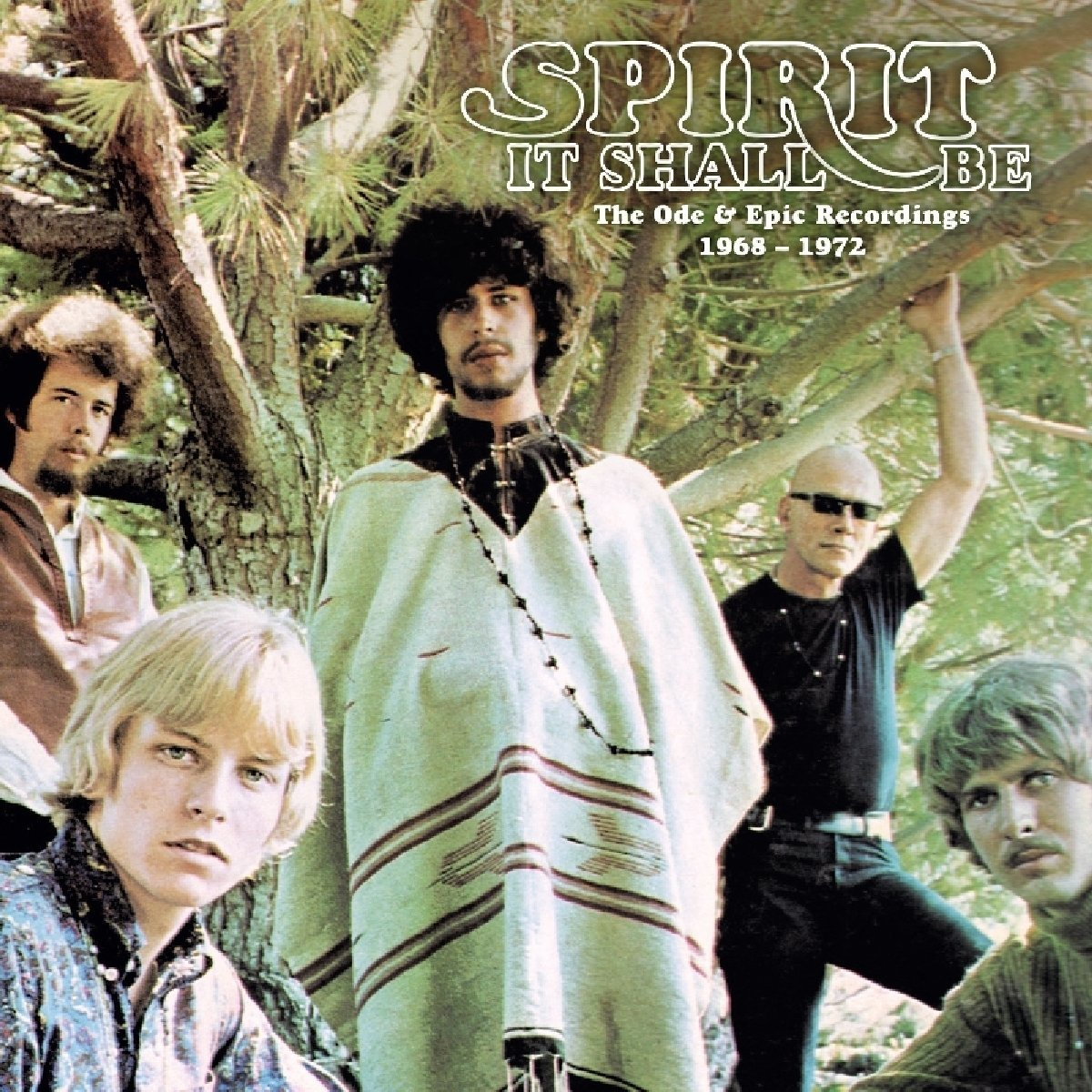 Spirit — It Shall Be - The Ode & Epic Recordings 1968-1972