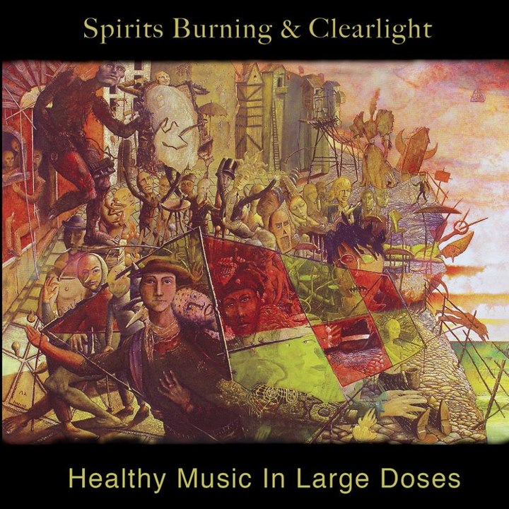 Spirits Burning & Clearlight — Healthy Music in Large Doses