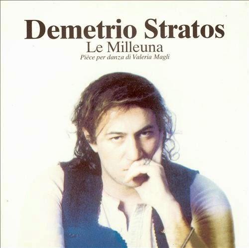 Demetrio Stratos - Le Milleuna cover
