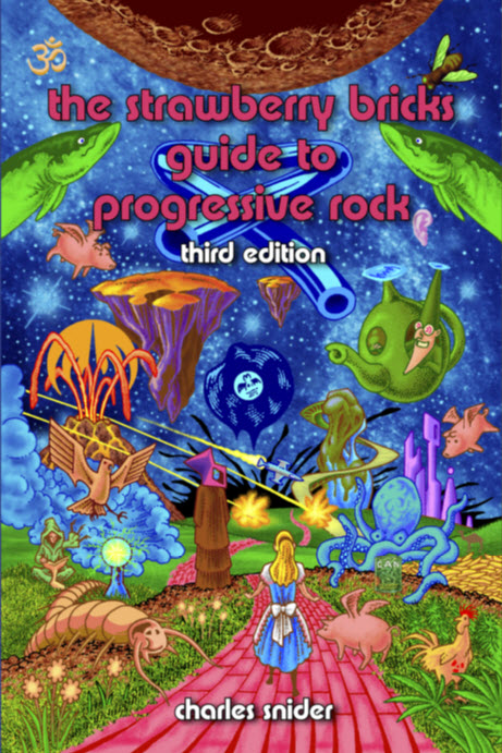 The Strawberry Bricks Guide to Progressive Rock, 3rd Edition Cover art