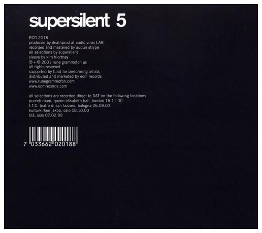Supersilent — 5