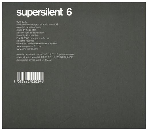 Supersilent — 6