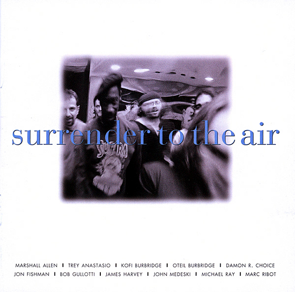 Surrender to the Air Cover art