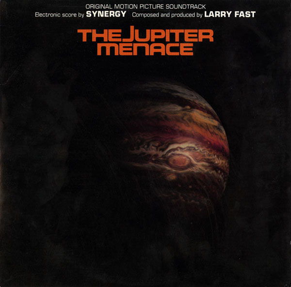The Jupiter Menace Original Soundtrack album cover