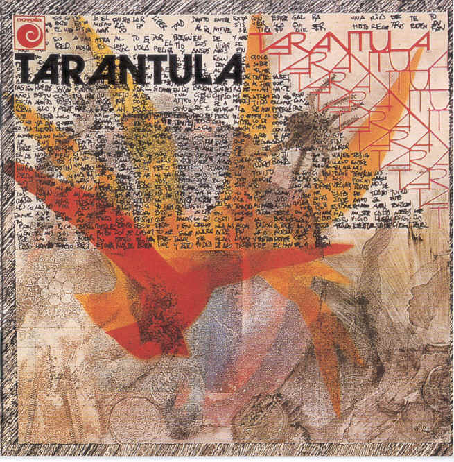 Tarántula Cover art