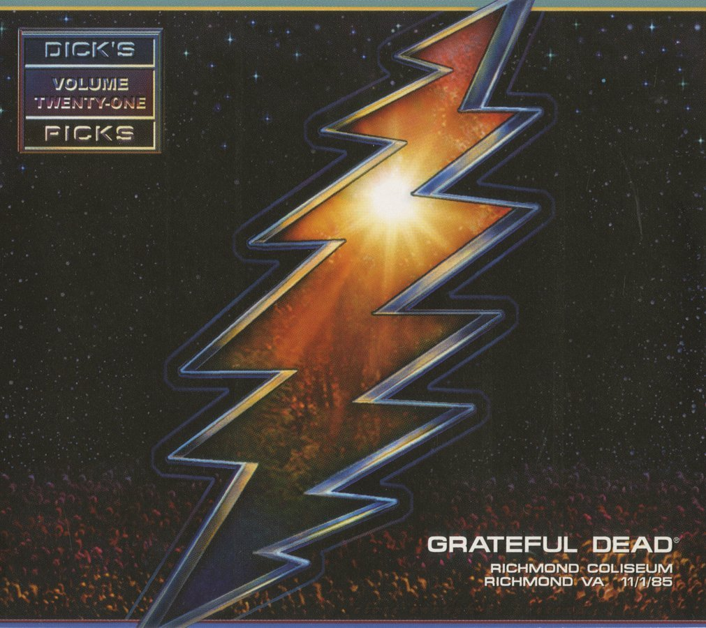 Grateful Dead — Dick's Picks Volume Twenty-One: Richmond Coliseum, Richmond, VA, 11/1/85