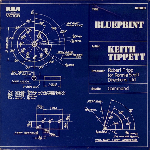 Keith Tippett — Blueprint