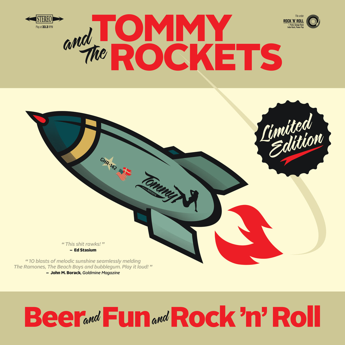Beer and Fun and Rock 'n' Roll Cover art