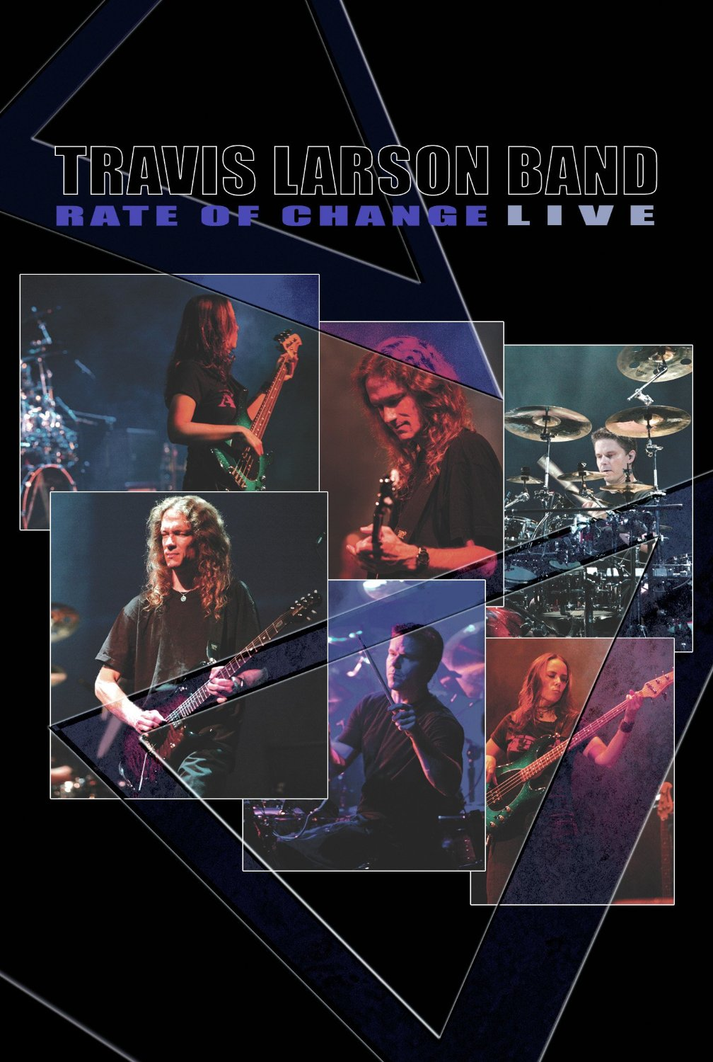 Travis Larson Band — Rate of Change - Live DVD