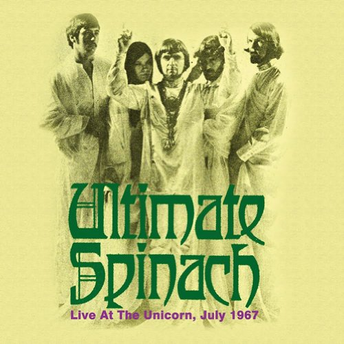 Live at the Unicorn, July 1967 Cover art