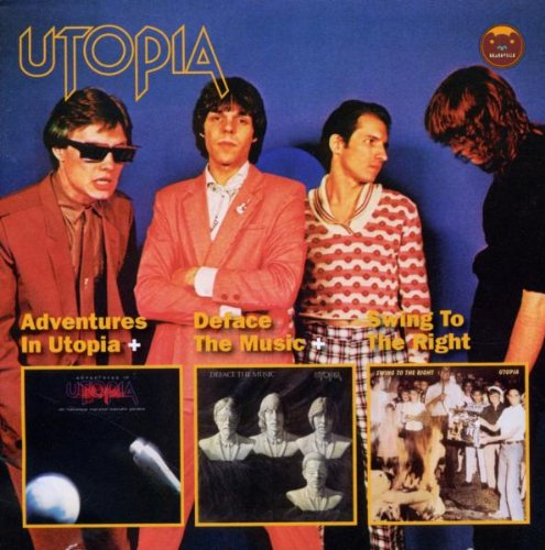 Adventures In Utopia + Deface the Music + Swing to the Right Cover art