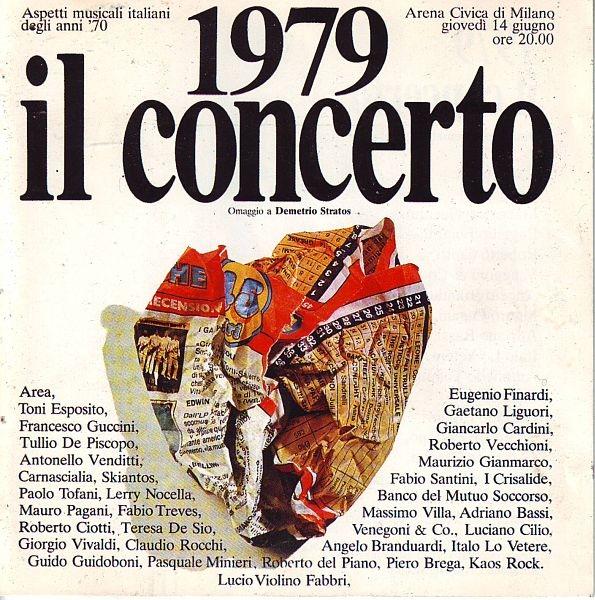 1979 Il Concerto - Omaggio A Demetrio Stratos cover