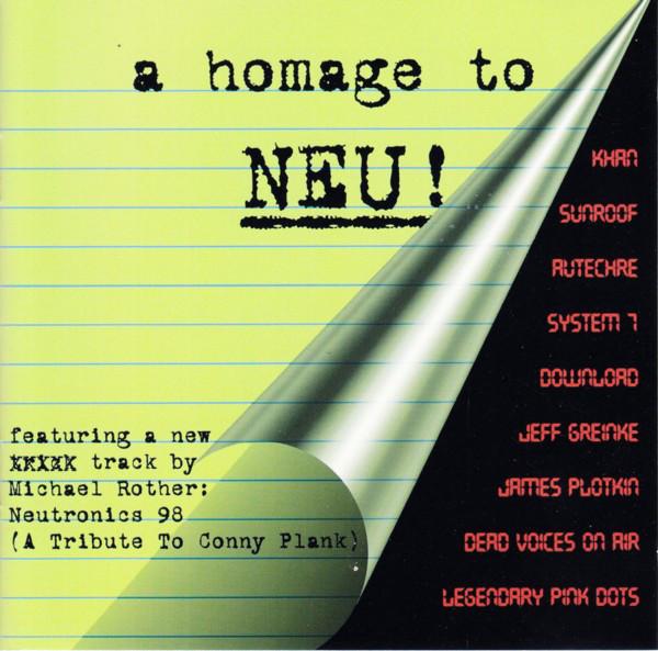 Various Artists — A Homage to Neu!