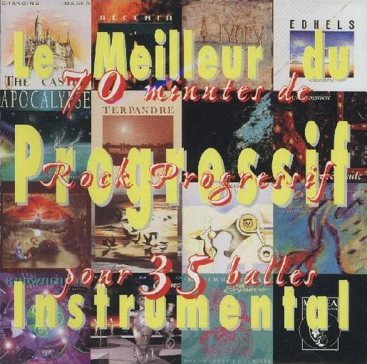 Le Meilleur du Progressif Instrumental Cover art