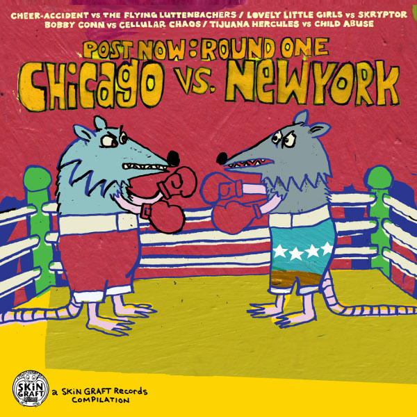 Various Artists — Post Now: Round One - Chicago vs New York