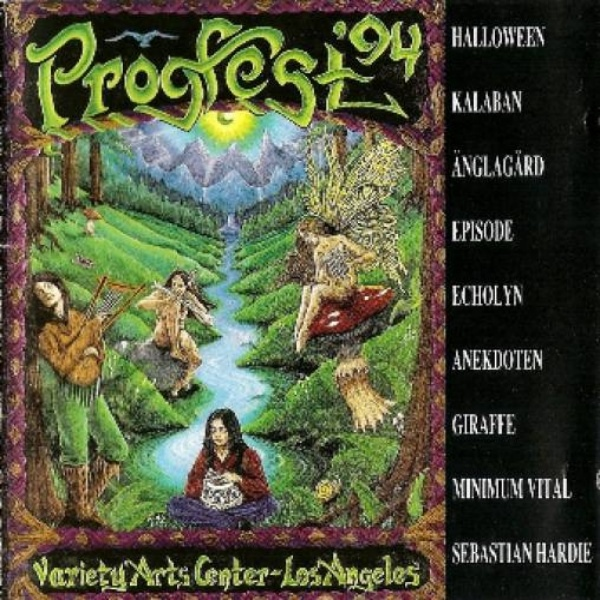 Live at Progfest '94 cover