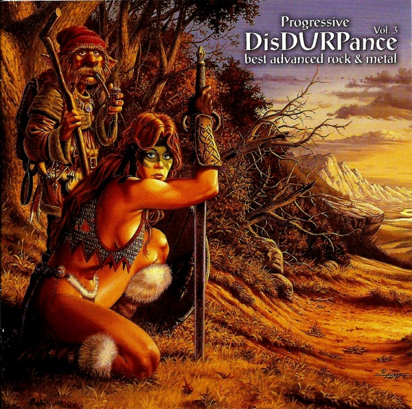 Progressive DisDURPance Vol.3 Cover art