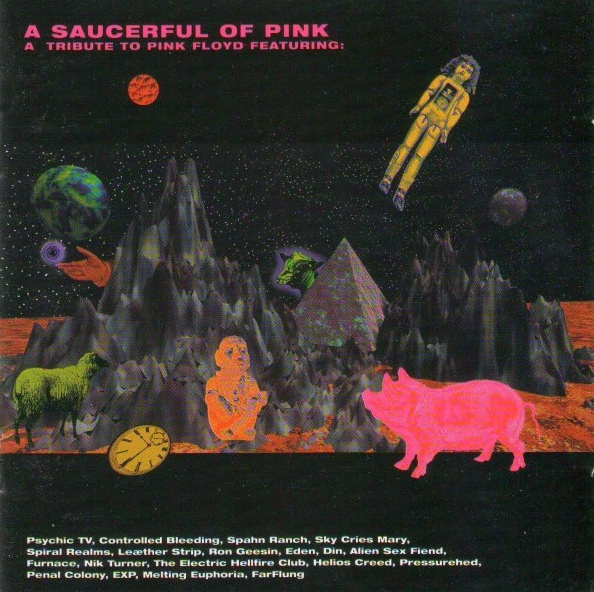 A Saucerful of Pink Cover art