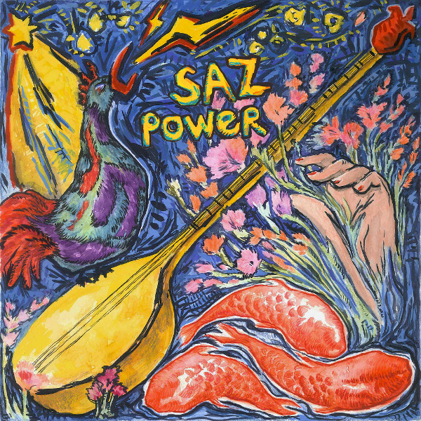 Saz Power Cover art