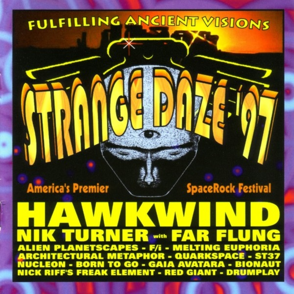 Strange Daze '97 Cover art