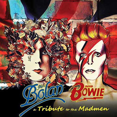 Various Artists — A Tribute to the Madmen (Marc Bolan - David Bowie)