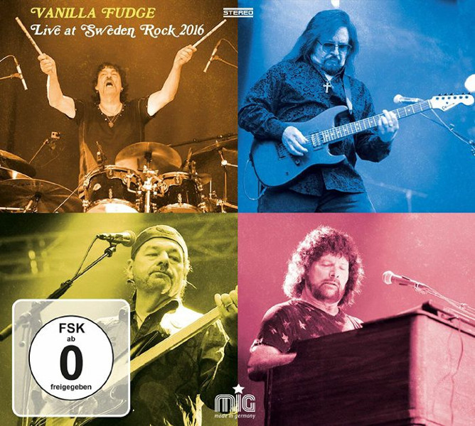 Vanilla Fudge — Live at Sweden Rocks 2016