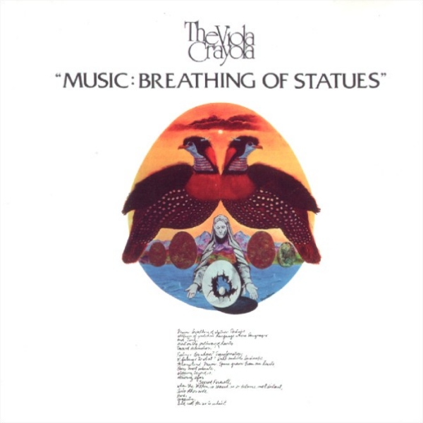 Music: Breathing of Statues Cover art