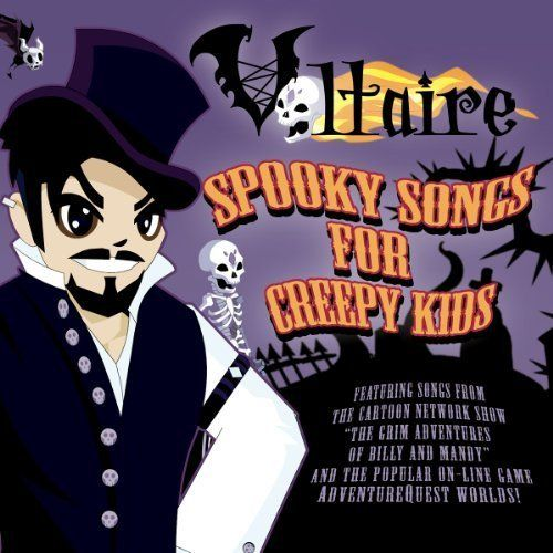 Spooky Songs for Creepy Kids Cover art
